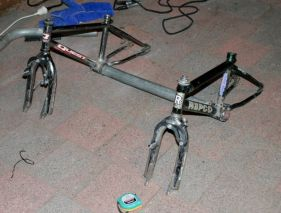 Frankie - cheap and simple recumbent trike